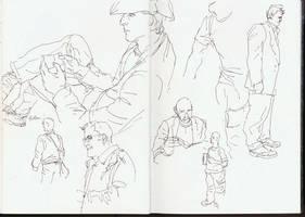 Sketch-Face-Book by leeoconnor