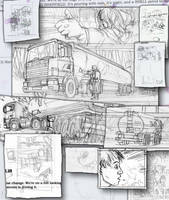 Evil Star Graphic Novel workings 6a