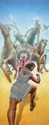 Exalted Third Edition (EX3): Chariot Punchin' by leeoconnor