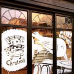 Robin Stylus Drift Records Window Painting   by leeoconnor