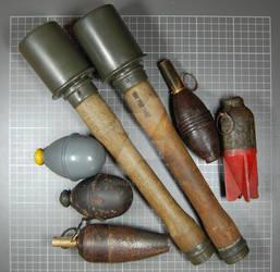 grenades collection