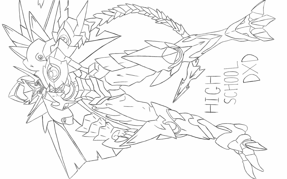 Dragon Armored Issei by Frostybagelz on DeviantArt