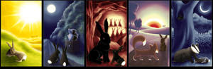 Watership Down: pentaptych