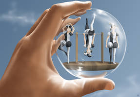 Tumblers in the Glass Sphere by Crooty