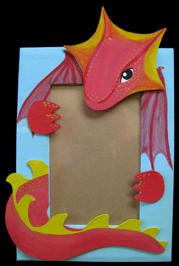 Dragon Photo Frame by Crooty on DeviantArt
