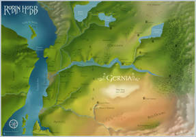 Robin Hobb Map: Gernia by Crooty