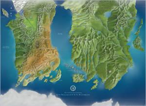 Belgariad and Malloreon Map