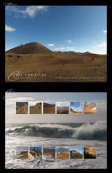 2015 Islas Canarias Calendar