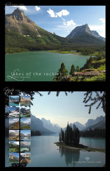 2015 Lakes of the Rockies Calendar