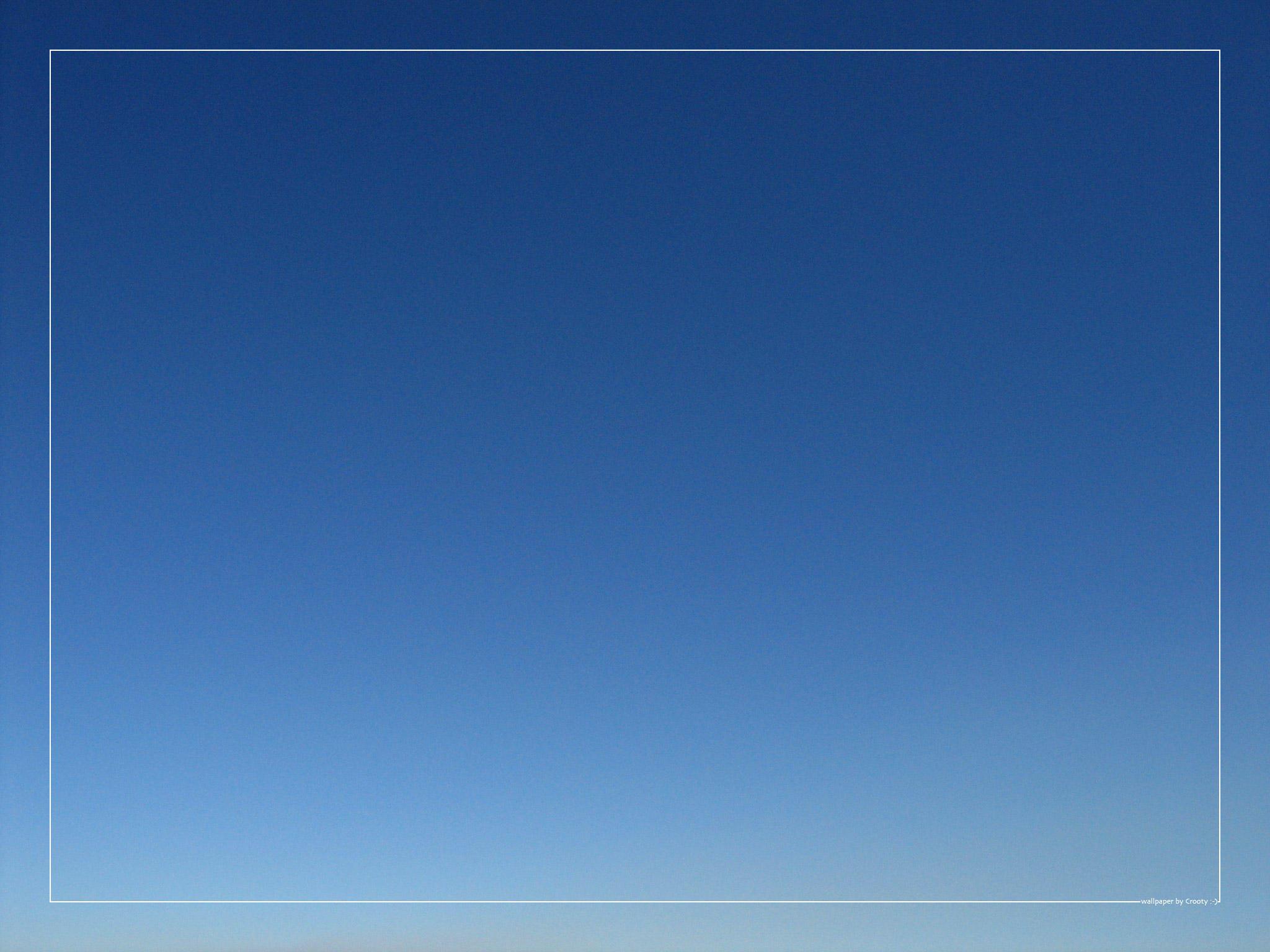 blue sky wallpaper by crooty on deviantart