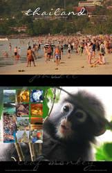 2019 Thailand Calendar by Crooty