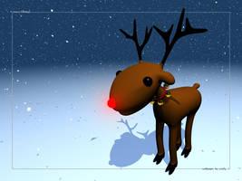 Rudolph: wallpaper
