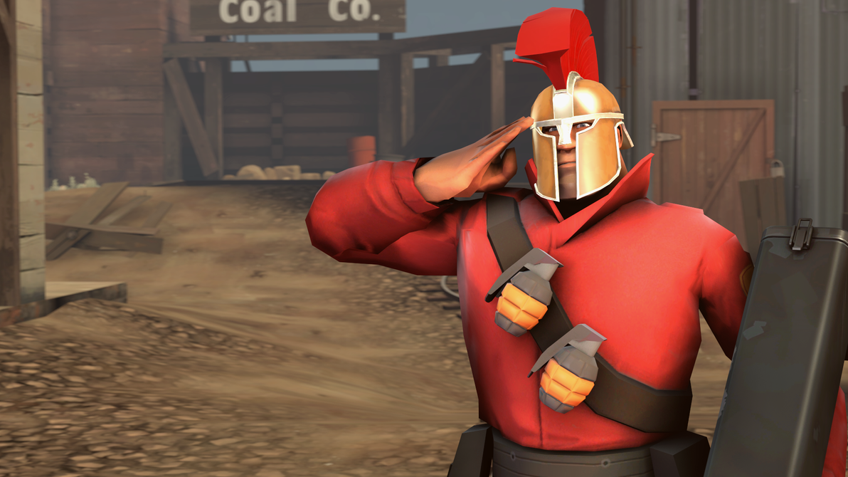 [SFM] TF2 Loadout - Soldier 2 (Spartacus3321) by 360PraNKsTer