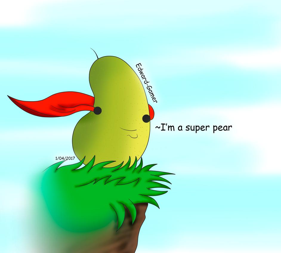 Super pear by Edward-Gamer