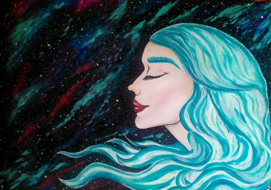 Andromeda by kerosinka