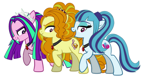The Dazzlings- Pony Forms