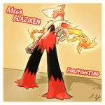 Mega Blaziken by DragonMaster137