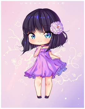 [Commission] Violet Heart