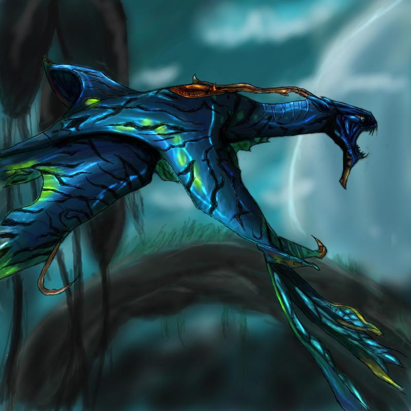 Ikran - Collab by FieryWithin