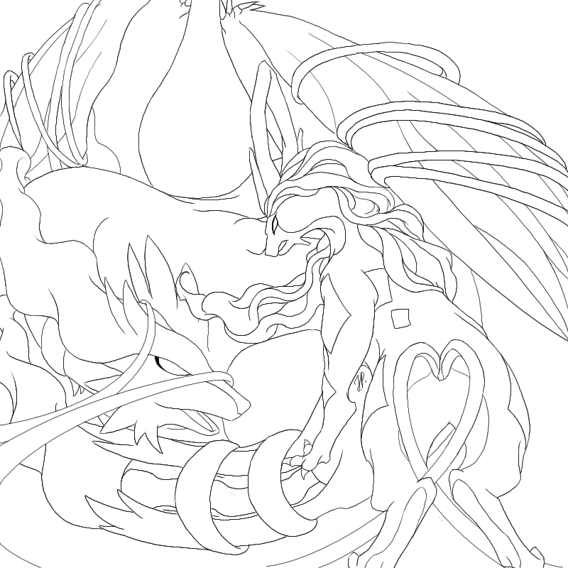 The gallery for moltres coloring pages for Moltres coloring pages