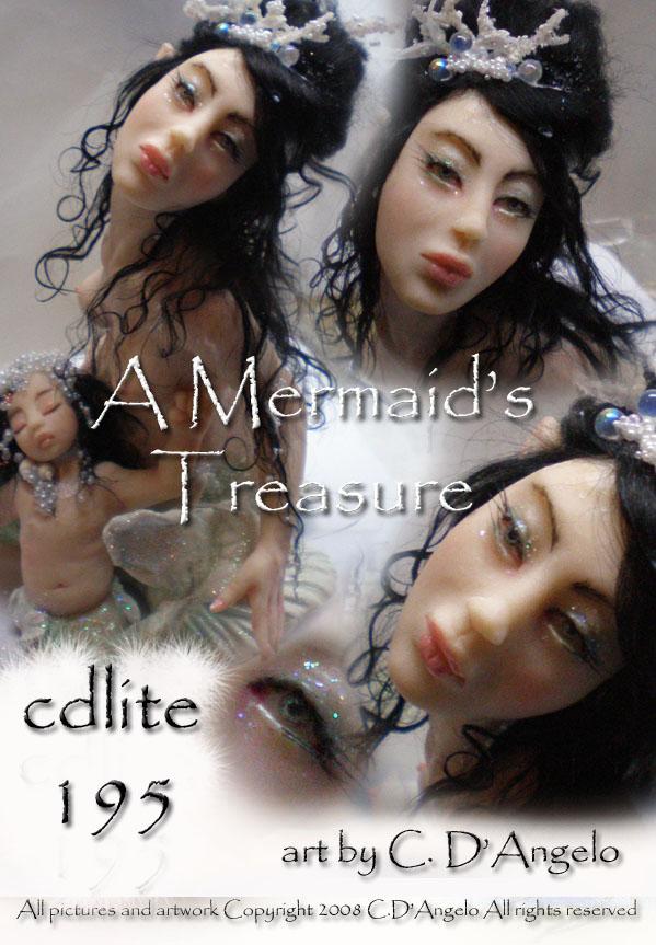 Mermaid's Treasure face1 by cdlitestudio