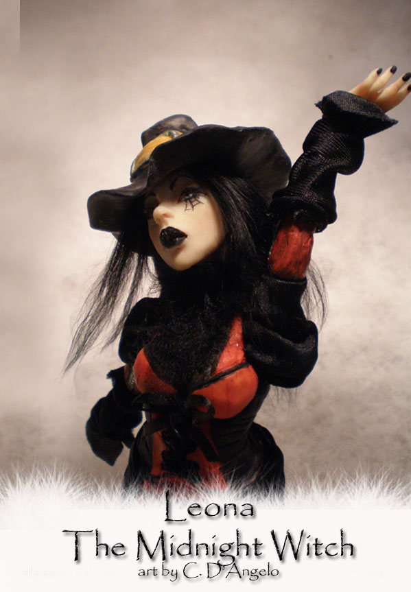 Leona The Midnight WitchA by cdlitestudio