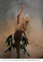 Leafy Sea Dragon Mermaid by cdlitestudio