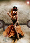 Steampunk Princess front view