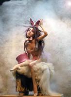 Playmate Bunny by cdlitestudio