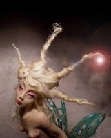 Water Nymph Mermaid by cdlitestudio
