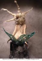Mermaid back side by cdlitestudio