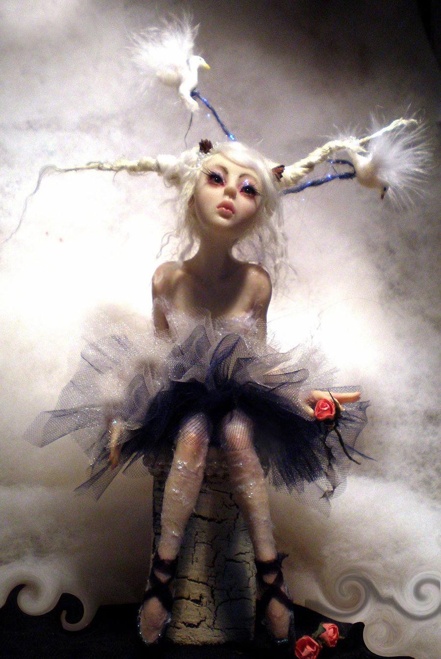 Ballerina full front by cdlitestudio