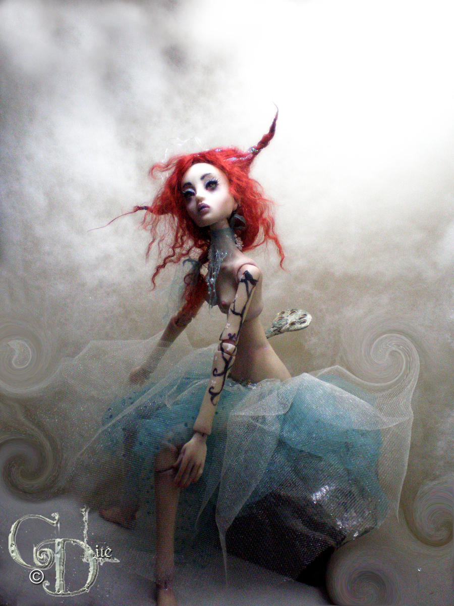 New ball jointed doll creepy E by cdlitestudio