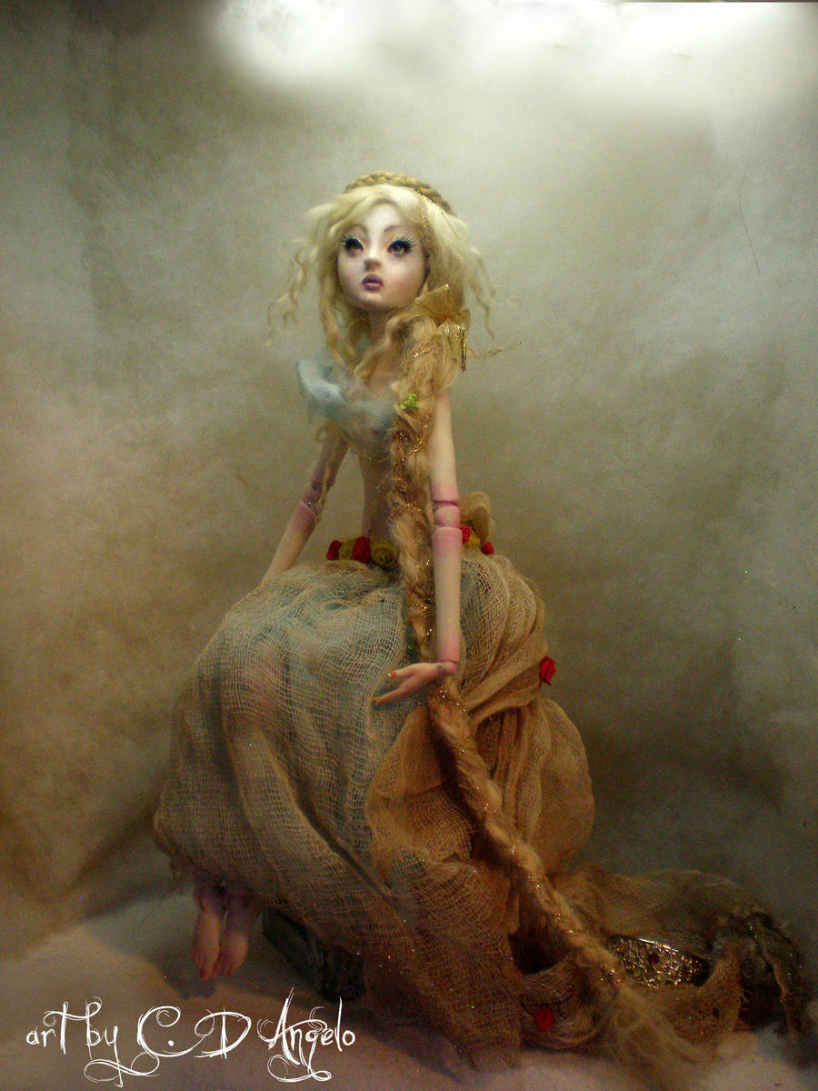 rapunzel ball jointed doll BB by cdlitestudio on DeviantArt