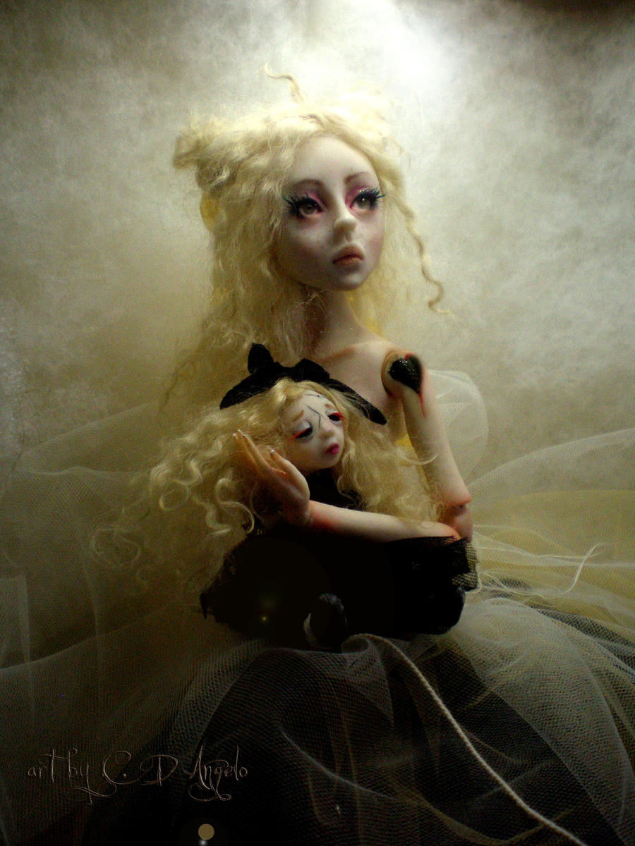 Creepy Ball Jointed Dolls