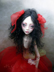 BJD Painting the roses by cdlitestudio