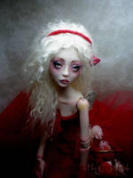BJD Painting the roses AA by cdlitestudio