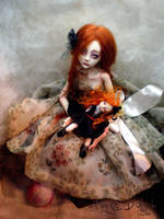 Ball jointed art doll BJD Child's PlayC by cdlitestudio