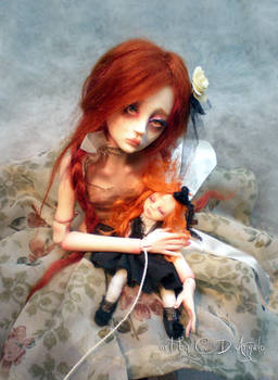 Ball jointed art doll BJD Child's Play AA