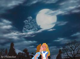 kiss into the moonlight- Wendy x Alice - Femslash by moniechan