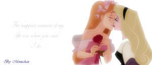 Romance - Giselle x Aurora - Femslash by moniechan