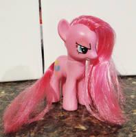 Custom 'Pinkamina' figure by stripeybelly