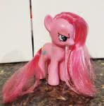 Custom 'Pinkamina' figure
