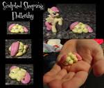 Sleeping Fluttershy -sculpted