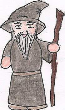 Gandalf Cartoon