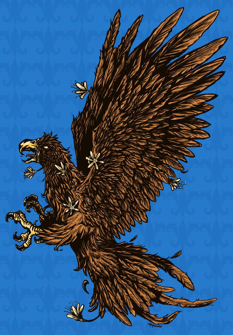 Ravenclaw Crest by capefoxalix
