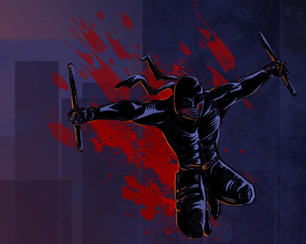 Daredevil by capefoxalix