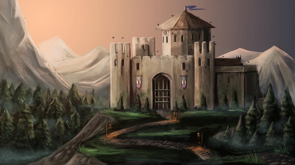 Whitestone Castle by capefoxalix