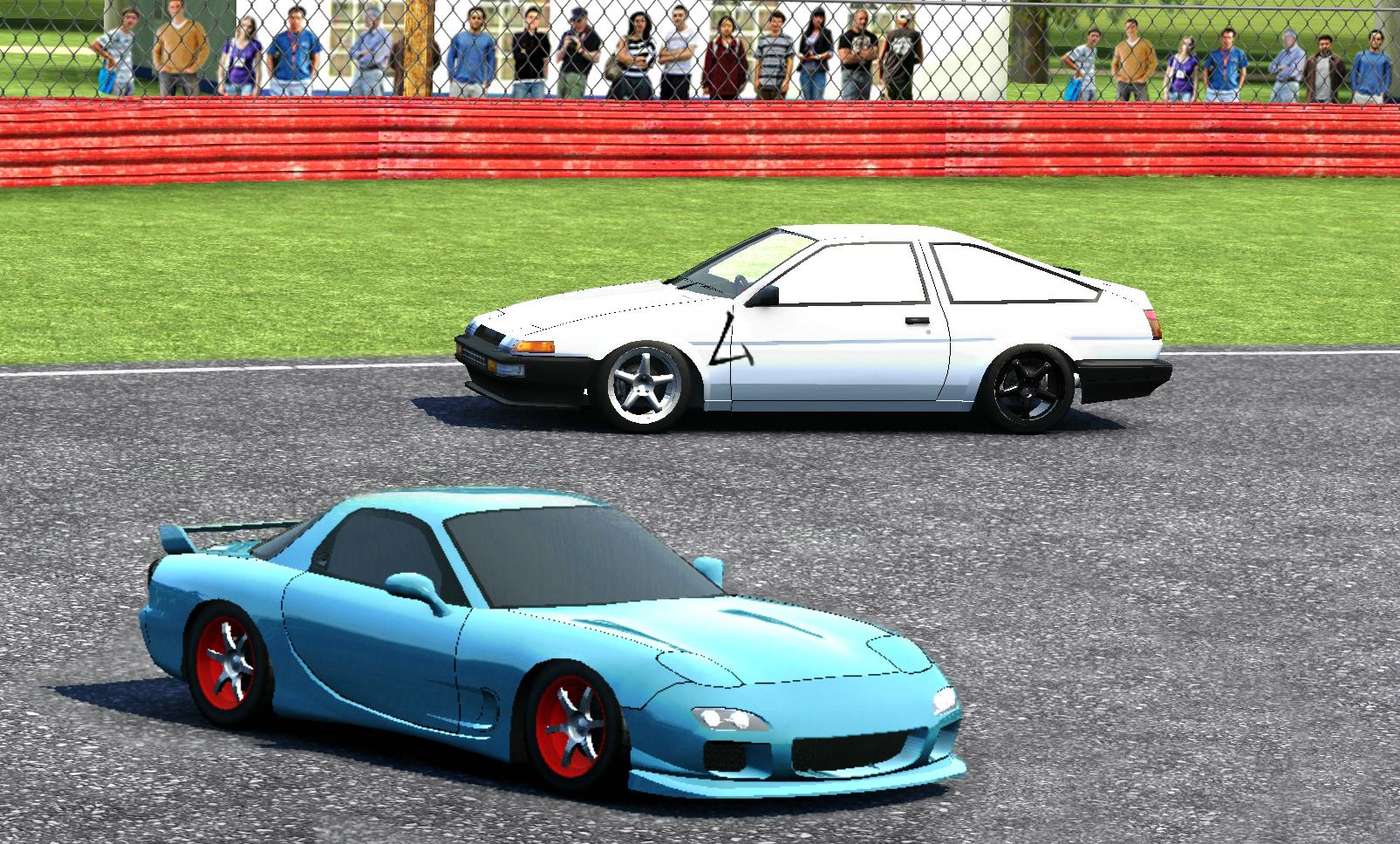 Car X Drift Racing Initial D By On Deviantart