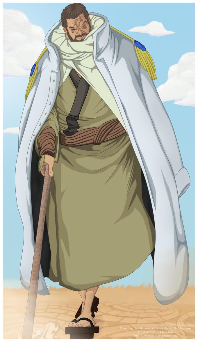 One Piece 705 - Fujitora ~~!! by Shinsekai94 on DeviantArt